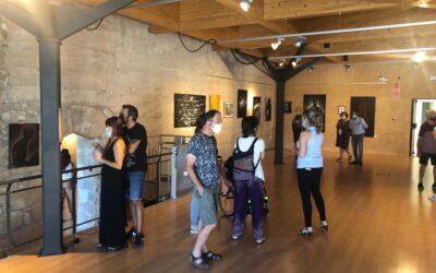 Individual exhibition at Paborde Castle